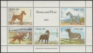 Ireland #567a MNH Miniature Sheet of 5 cv $8