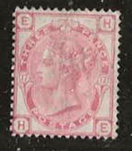 Great Britain 61 [pl17] [u] CV $50.00
