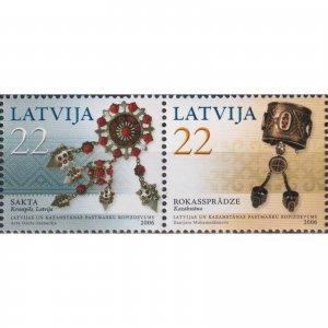 Latvia 2006 Female Ornaments  (MNH)  - Art, Jewelry, Ethnos