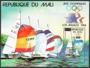Mali C507-C509,C510,MNH.Mi 1020-1022,Bl.25. Olympics Los Angeles-1984,Winners.