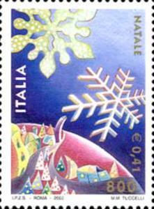 ITALIA REPUBBLICA ITALY REPUBLIC 2000 NATALE CHRISTMAS NOEL NATAL WEIHNACHTEN...