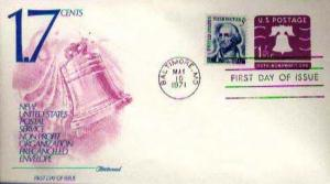 United States, Postal Stationery, First Day Cover, Maryland