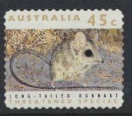 Australia SG 1331  Used perf 11½ Threatened Species -Dunnart