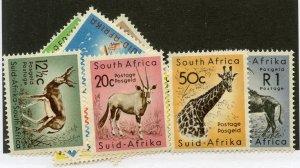 South Africa, Scott #241-53, Complete Set Unused, Hinged