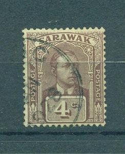 Sarawak sc# 56 used cat value $2.50