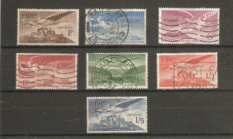 IRELAND 1948 - 1965 AIR SET SG 140/143b FINE USED