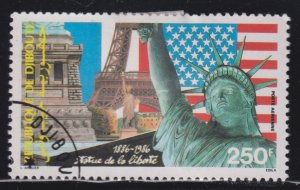 Djibouti C222 Statue of Liberty 1986