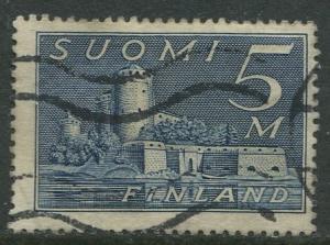 Finland - Scott 177 - Castle in Savonlinna -1930- FU - Single 5m Stamp