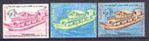 Bangladesh 1999 Postal Motor Launch 6t imperf progressive...