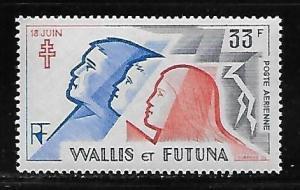Wallis and Futuna Islands C94 Cross of Lorraine single MNH