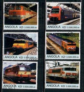 Angola Used Electric Locomotives complete set CTO