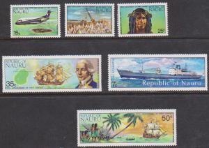 Nauru Scott #108-113 Mint VF-NH 1974 Outside World Issue Complete