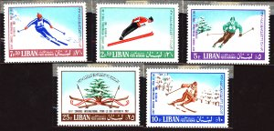 Lebanon #Mint Collection of Stamps, Mixed Condition