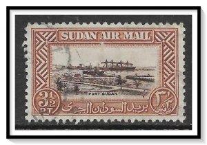 Sudan #C38 Airmail Used