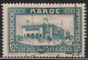 Fr Morocco 128 Hinged 1933 Casablanca Post Office