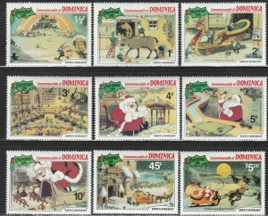 Dominica, #706-714 Unused From 1981