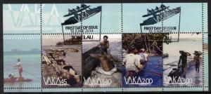 TOKELAU ISLANDS SGMS472 2014 VAKA-CANOES FINE USED