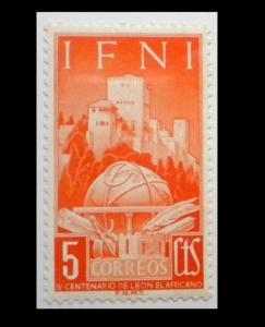 SPAIN & COLONIES - IFNI - 1952. SCOTT # 54. UNUSED