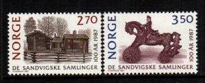 Norway  911 - 912  MNH $ 3.25