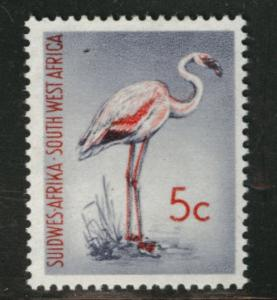 South West Africa Scott 273 MNH** 5c Flamingo Bird 1961 CV$7