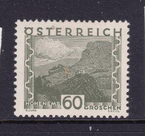 Austria a MH 60g from 1929 Views set
