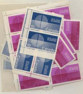 Canada - 1970 UN 25th Anniversary Set X 50 mint #513-14