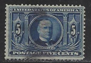 United States Scott # 326, used