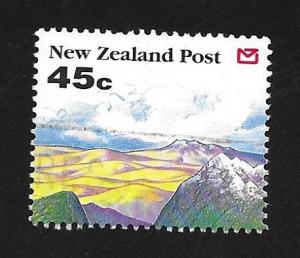 New Zealand SC# 1118 (45c) - Scenic Views:Hills & Mountain Tops, Used