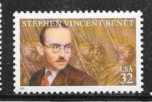 US#3221 $.32 Literary Arts  (MNH) CV$0.65