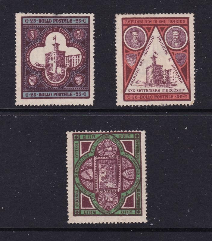 San Marino the 1894 set MH