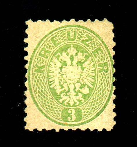 Austria #23 MINT F-VF OG Sm HR Cat $190