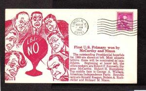 NH Primary McCarthy Richard Nixon LBJ Lyndon Johnson Lincoln New Hampshire