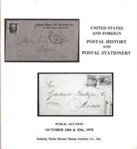 Sotheby's: Sale # S-26  -  United States and Foreign Post...