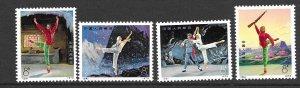 PRC 1126-29 set 4  1973 ballet