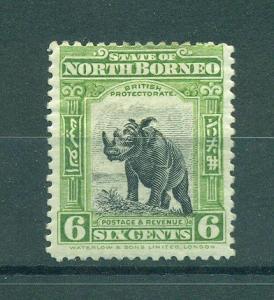 North Borneo sc# 172 mhr cat value $10.00