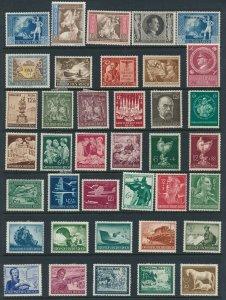 Lot Stamp Germany Poland WWII Brandenburg Junker Wehrmacht Hitler Revenue MNG