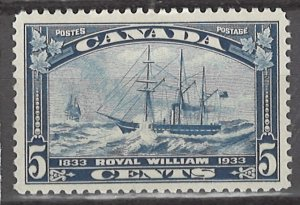 COLLECTION LOT # 3100 CANADA #204 MH 1933 CV+$11