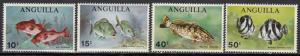 Anguilla - 1969 Fish Sc# 83/86 - MNH (453N)