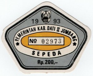 (I.B) Indonesia Revenue : Motorcycle Tax 200R (1993)