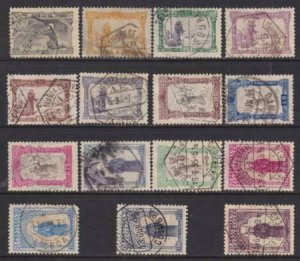 Portugal 1895 SC 132-146 Used Set St. Anthony