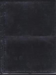 G) 10 STOCKSHEETS, BLACK BACKGROUND, HIGHLY TRANSPARENT, WEL