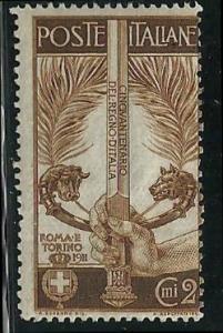 Italy 119 mint 2017 SCV $2.90 - hinged  - 15140