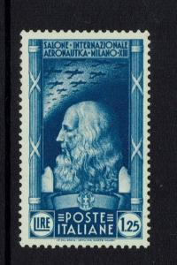 Italy SC# 348 - Mint Never Hinged (Very Light Gum Toning / Scratches) - 050717