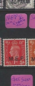 MIDDLE EAST FORCES  (P2308B)  KGVI  ON GB 1D  SG  M6     MOG