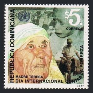 Dominican Rep 1262,MNH.Michel 1861. Mother Teresa,1910-1996.1997.