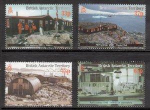 BRITISH ANTARCTIC Port Lockroy; Scott 297-300, SG 329-32; MNH
