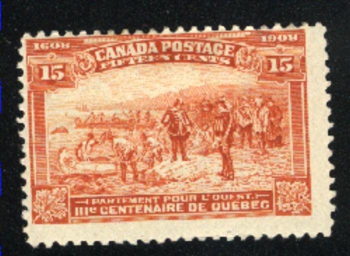 Canada 102   Mint F 1908   PD