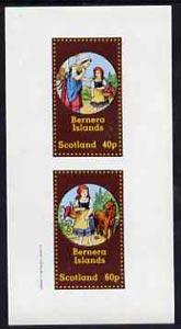 Bernera 1982 Fairy Tales (Little Red Riding Hood) imperf ...