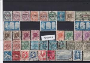 algeria early  stamps ref r12445