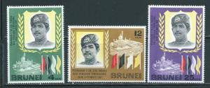 Brunei 135-7 1968 Sultan set NH